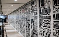 21+ Typographic Wall Designs | Wall Designs | Design ...