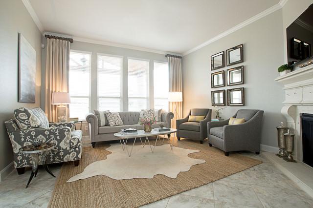 23 Gray Sofa Living Room Designs Decorating Ideas