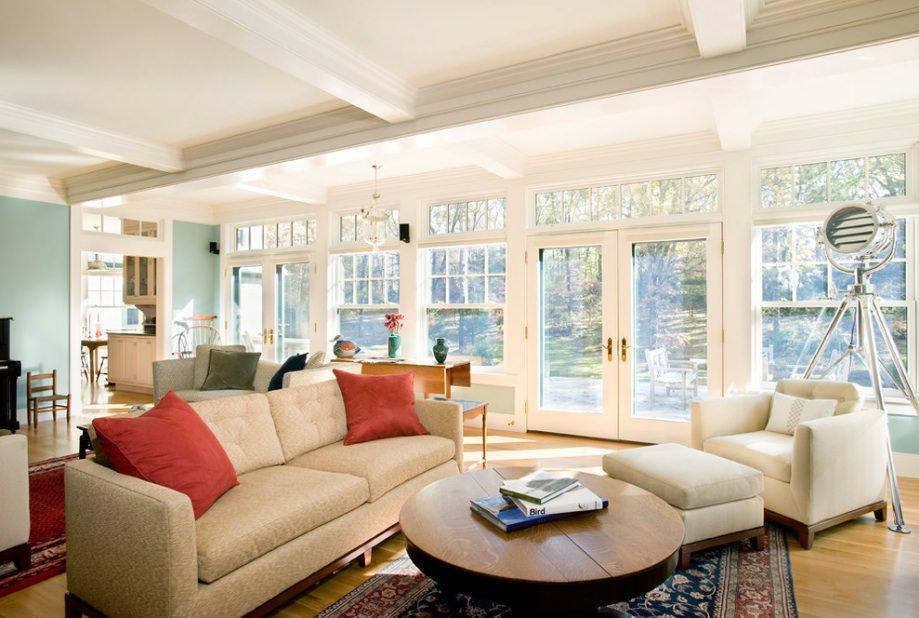 15 Living Room Window Designs Decorating Ideas  Design Trends  Premium PSD Vector Downloads