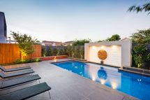 Modern Landscape Design with Pool