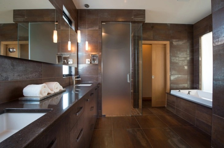 20 brown bathroom designs decorating