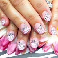 29+ Pink and Silver Nail Art Designs, Ideas | Design ...