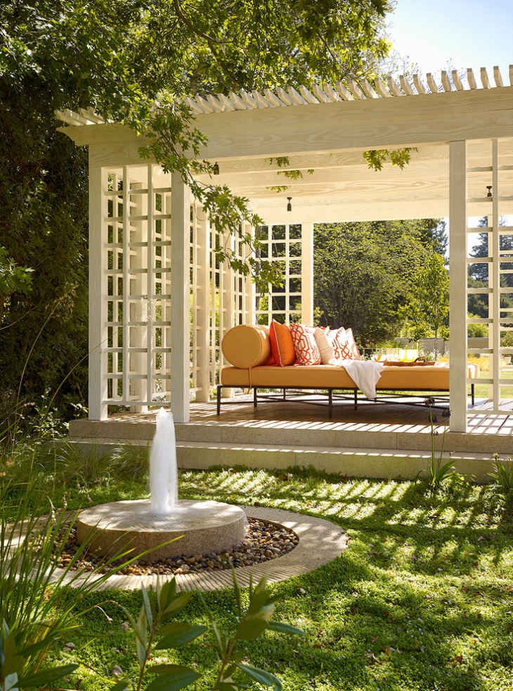 20 Stone Patio Outdoor Designs Decorating Ideas  Design Trends  Premium PSD Vector Downloads