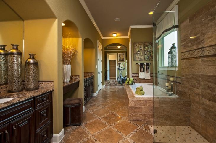 20 Bathroom Tile Floor Designs Plans Flooring Ideas