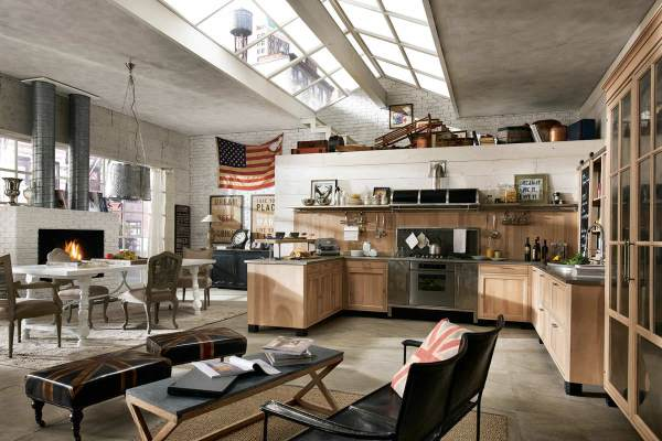 Industrial-Style Kitchen Design