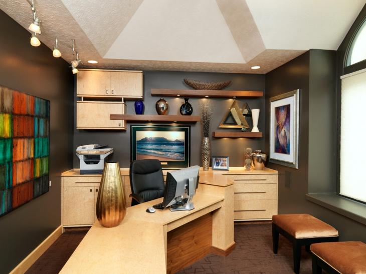 Modular Home Office Furniture Designs Ideas Plans