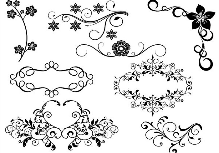 25+ Photoshop Decorative Brushes, Download for Photoshop