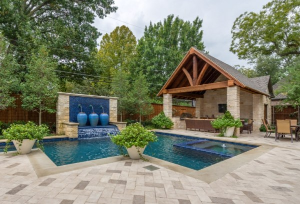 backyard pool design decorating