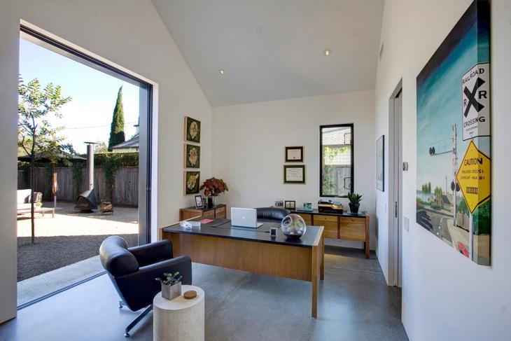 20 Mid Century Modern Home Office Designs Decorating Ideas  Design Trends  Premium PSD