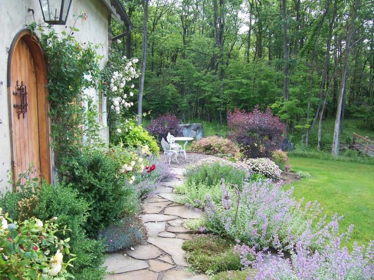 19 Garden Walkway Designs Decorating Ideas  Design Trends  Premium PSD Vector Downloads