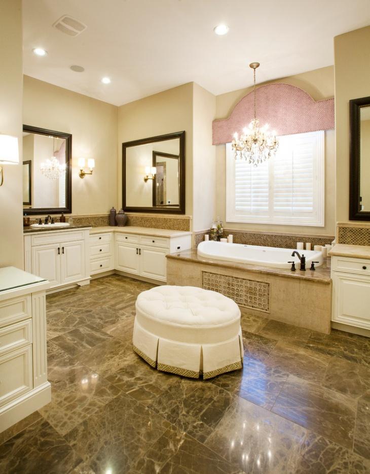 20 Bathroom Chandelier Designs Decorating Ideas Design
