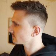 high fade haircut design