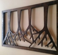 12+ Wood Wall Art Designs | Wall Designs | Design Trends ...