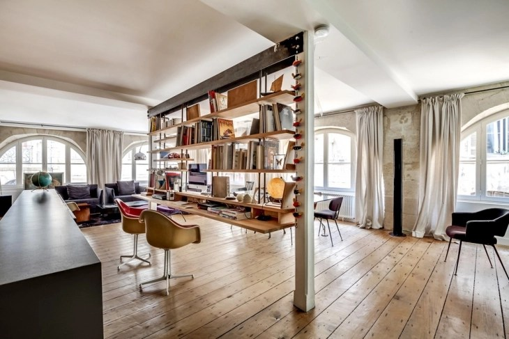 20 Industrial Home Office Designs Decorating Ideas  Design Trends  Premium PSD Vector Downloads