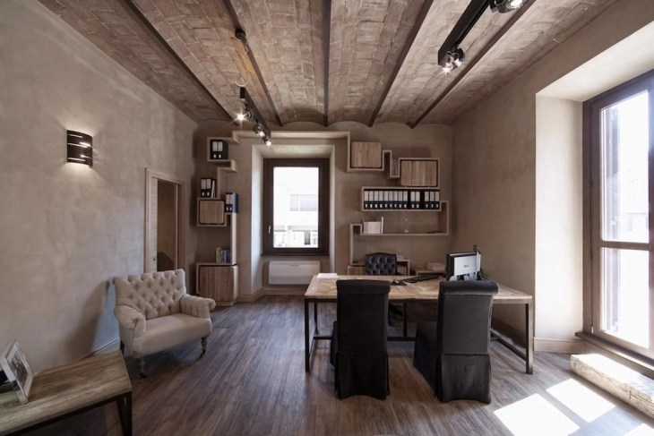20 Industrial Home Office Designs Decorating Ideas