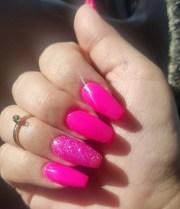 sparkle nail art design ideas