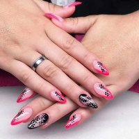 25+ Pointy Nail Art Designs, Ideas | Design Trends ...