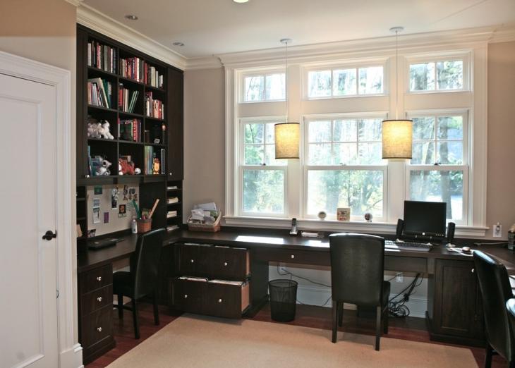 20+ Home Office Cupboard Designs, Ideas, Plans
