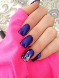 22+ New Years Nail Nail Art Designs, Ideas   Design Trends ...