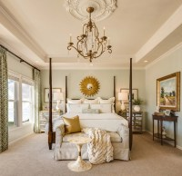 20+ Bedroom Chandelier Designs, Decorating Ideas | Design ...