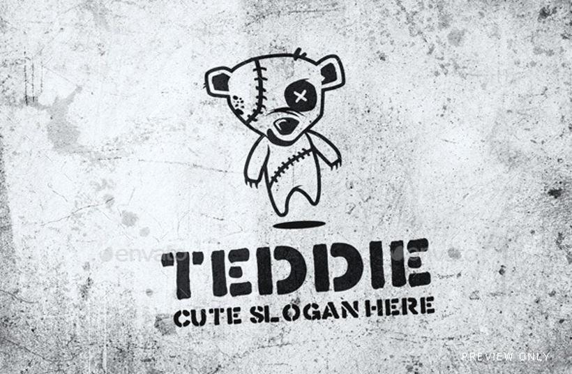 45 Teddy Bear Logo Designs Ideas Examples  Design Trends  Premium PSD Vector Downloads