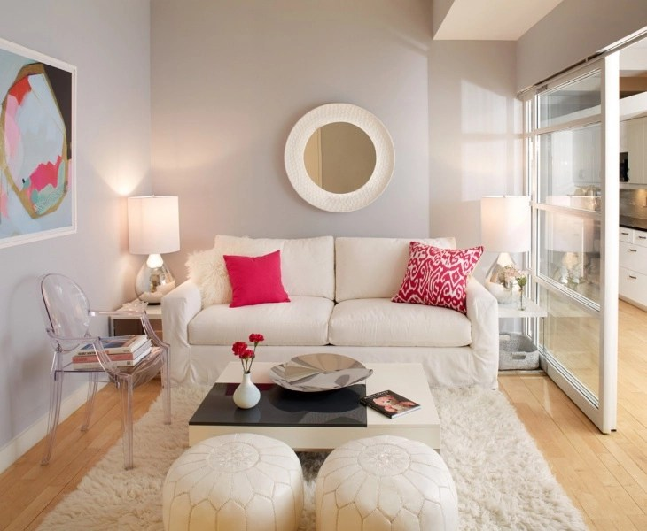 small space living rooms feng shui room color 20 furniture designs ideas plans design simple