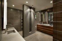 Grey Contemporary Bathroom Design