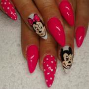 cartoon nail art design