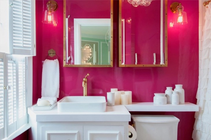 15+ Pink Bathroom Designs, Decorating Ideas