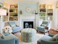 21+ Green Living Room Designs, Decorating Ideas | Design ...