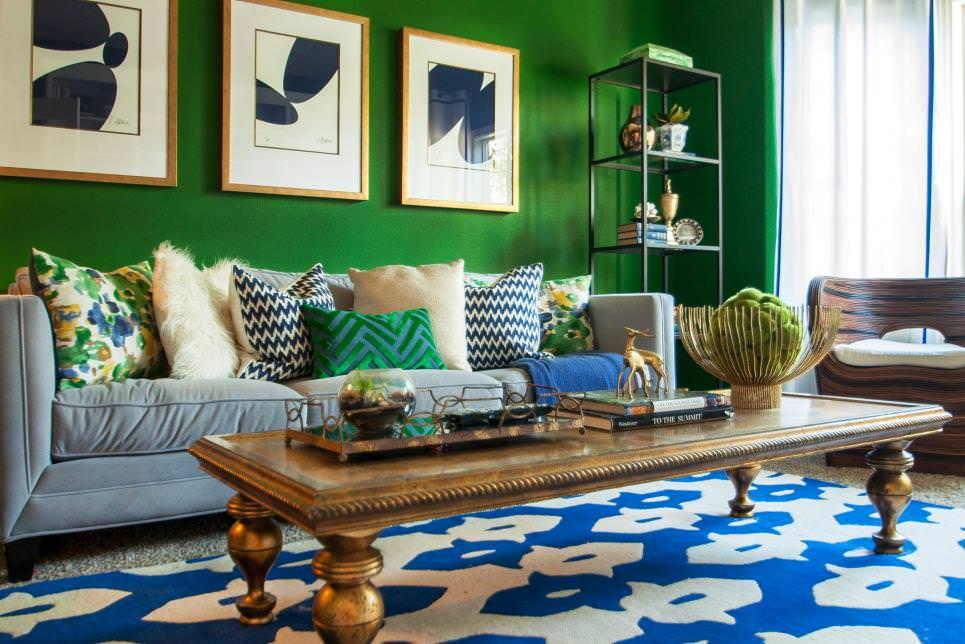 lime green and brown living room ideas purple couch designs 21+ designs, decorating | design ...