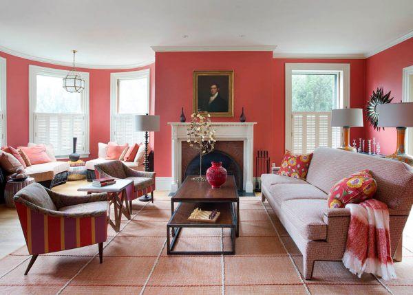 red living room 25+ Red Living Room Designs, Decorating Ideas | Design