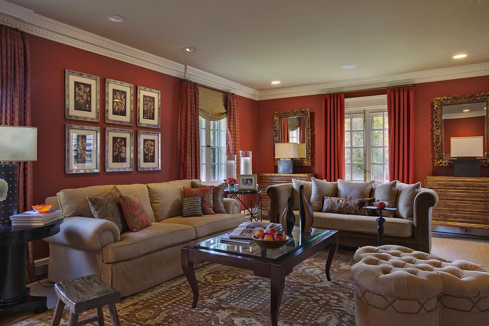 Living Room Design Ideas Red Sofa