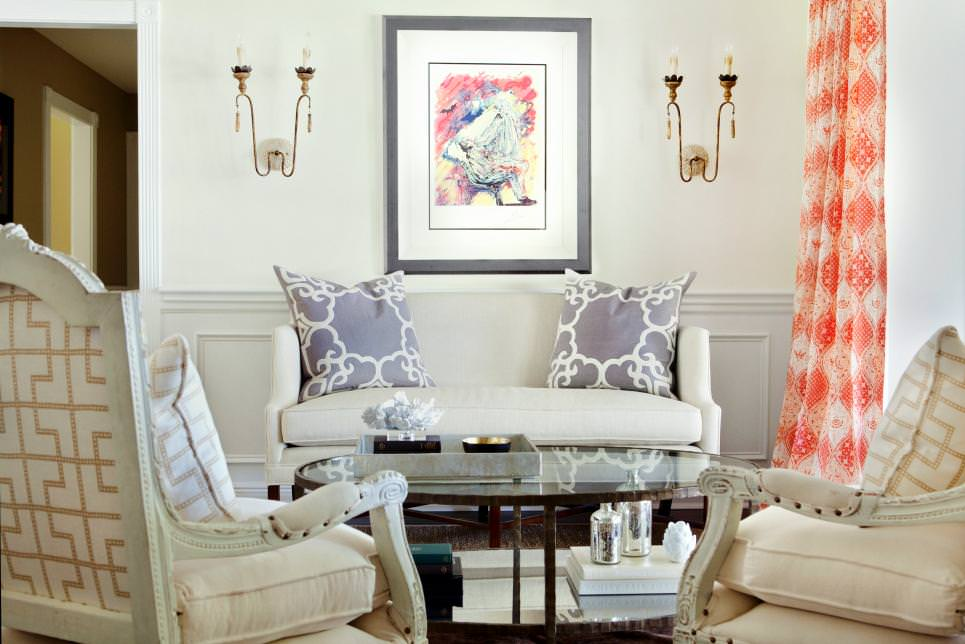 orange couch living room ideas 2 piece set 20+ curtain designs, decorating | design ...