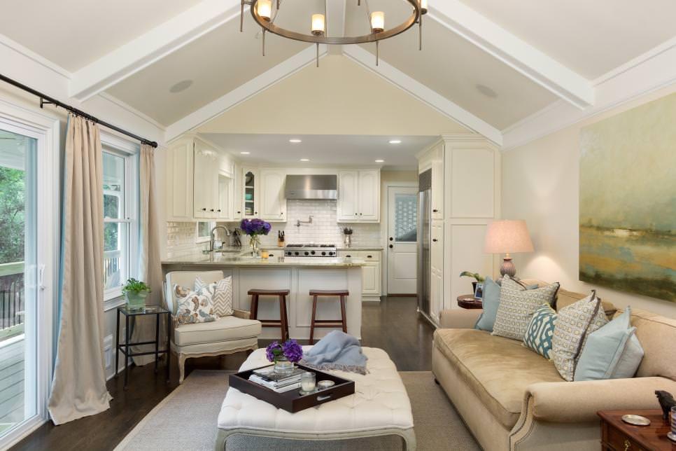 25+ Square Living Room Designs, Decorating Ideas | Design ...