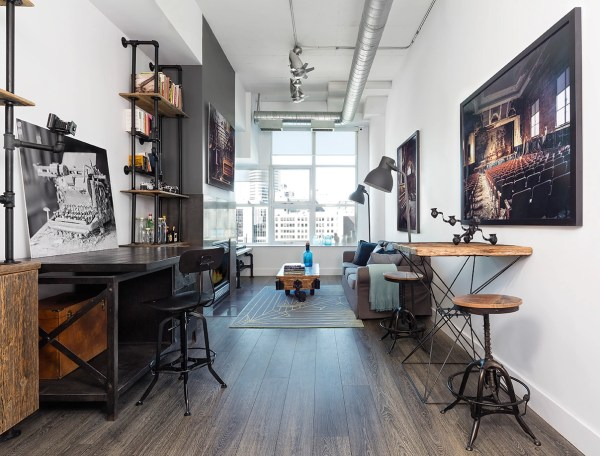 Industrial Home Office Design Decorating Ideas
