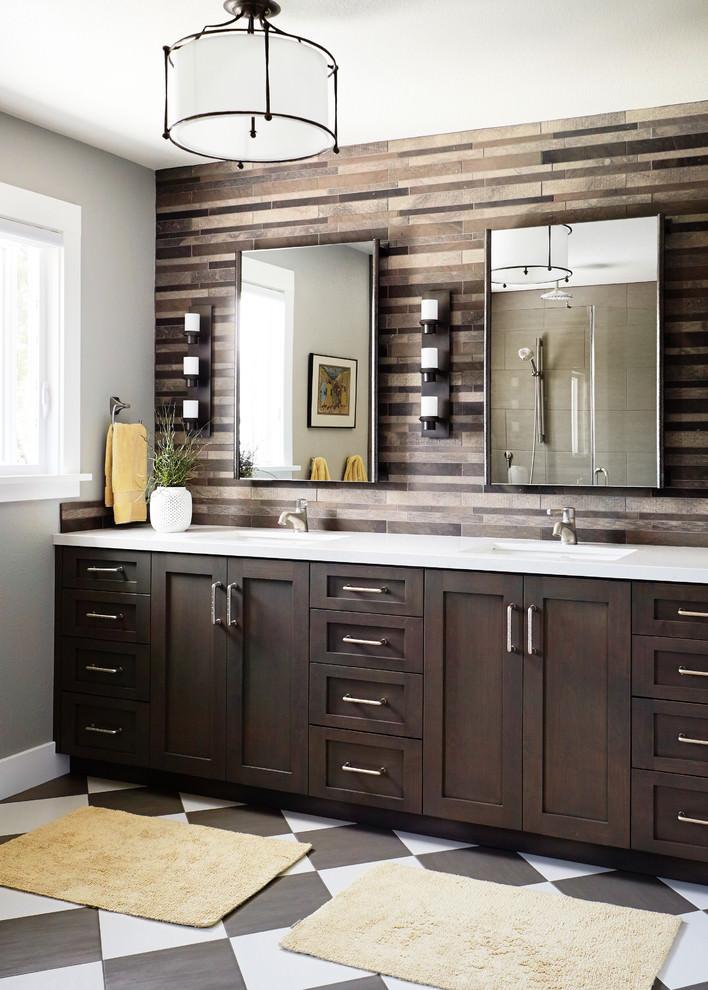 25 Bathroom Backsplash Designs Decorating Ideas Design