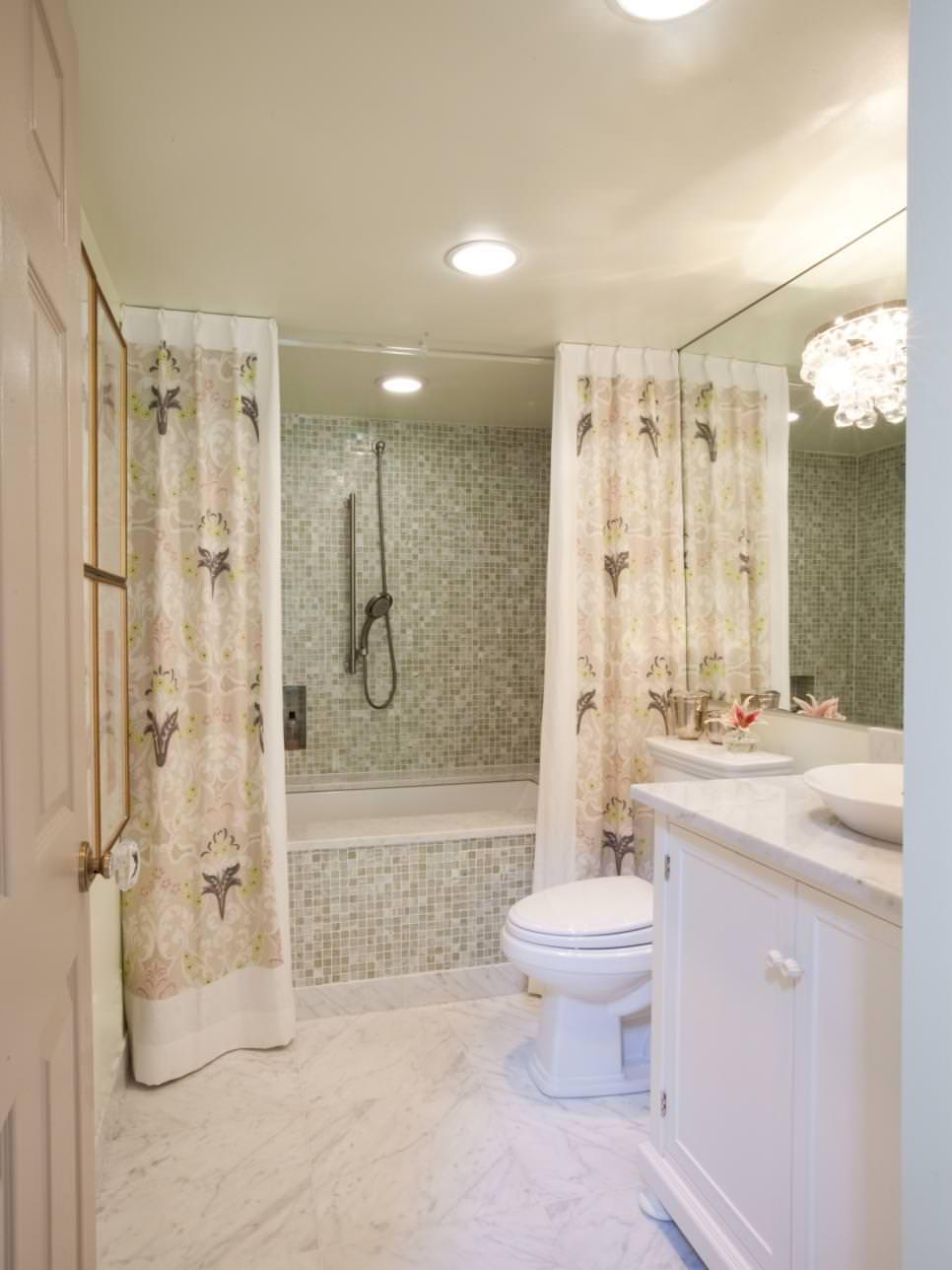 18 Bathroom Curtain Designs Decorating Ideas Design