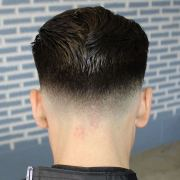 medium fade haircut design