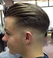 comb over fade haircut design