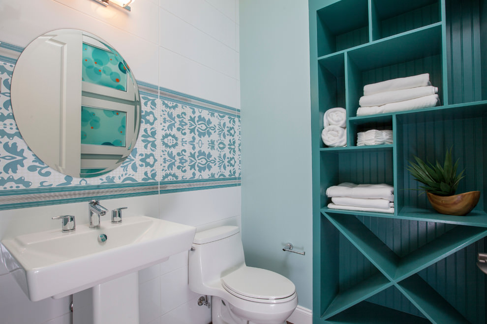 23 Bathroom Shelf Designs Decorating Ideas Design Trends Premium PSD Vector Downloads