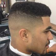 afro fade haircut ideas design