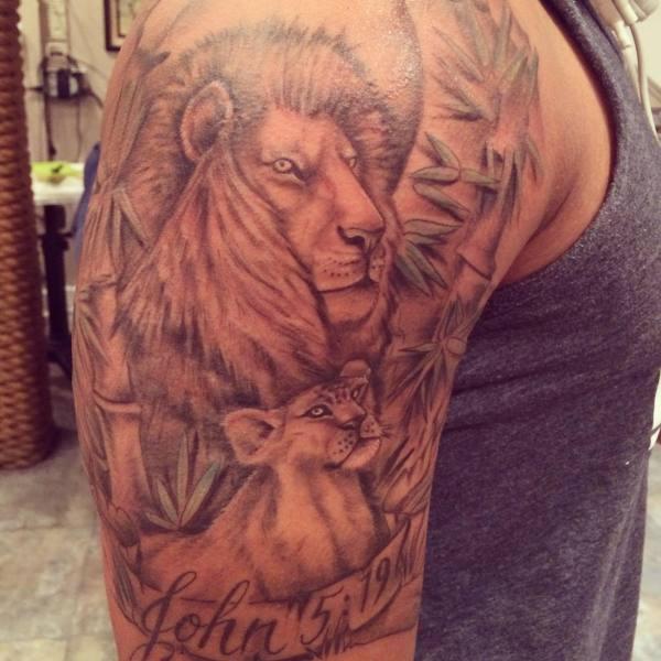 leo tattoo design trends