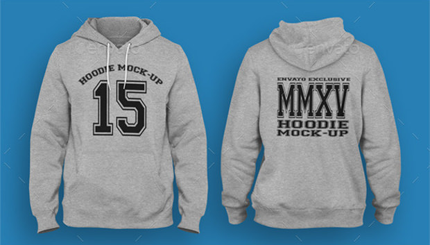 17 Realistic Hoodie PSD Mockups Design Trends Premium