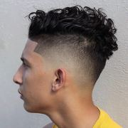 high fade haircut design