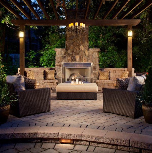 Patio Design Decorating Ideas Trends - Premium Psd Vector
