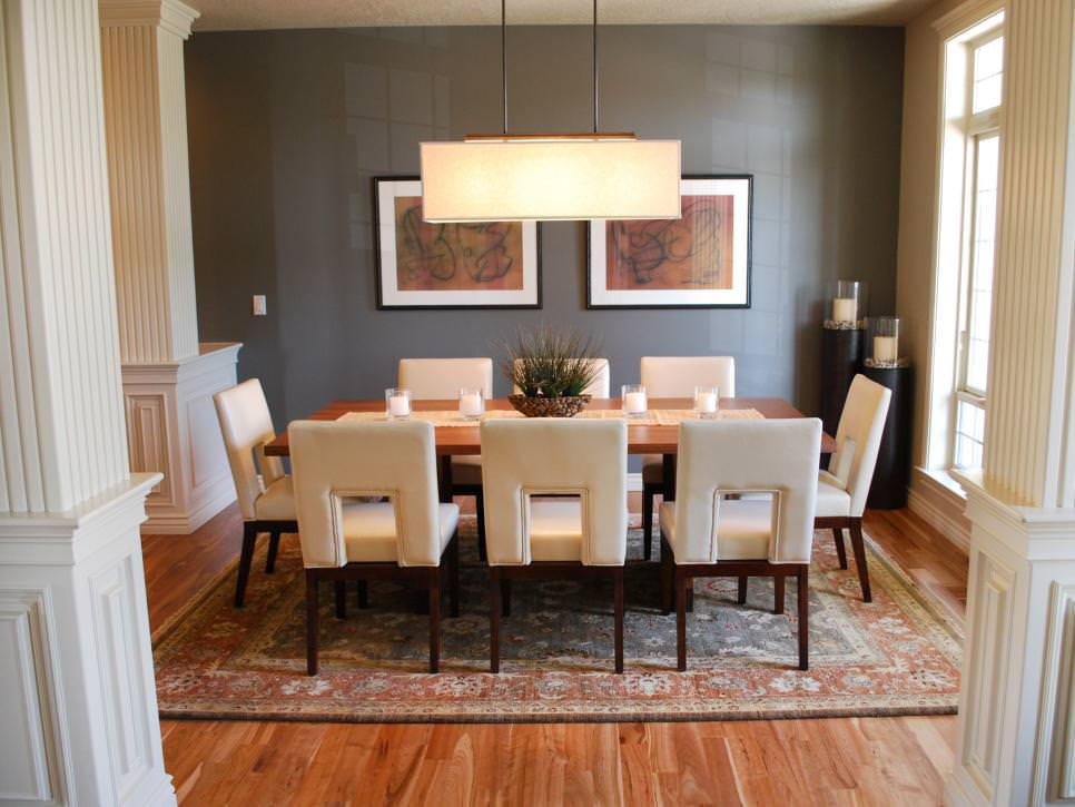 23+ Transitional Dining Room Designs, Decorating Ideas