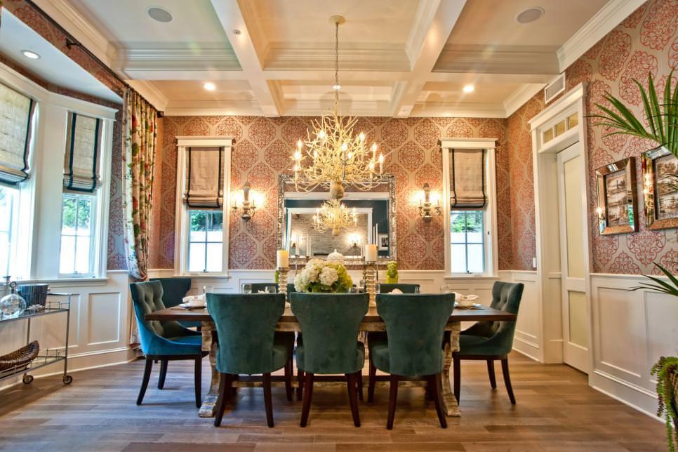 24+ Elegant Dining Room Designs, Decorating Ideas