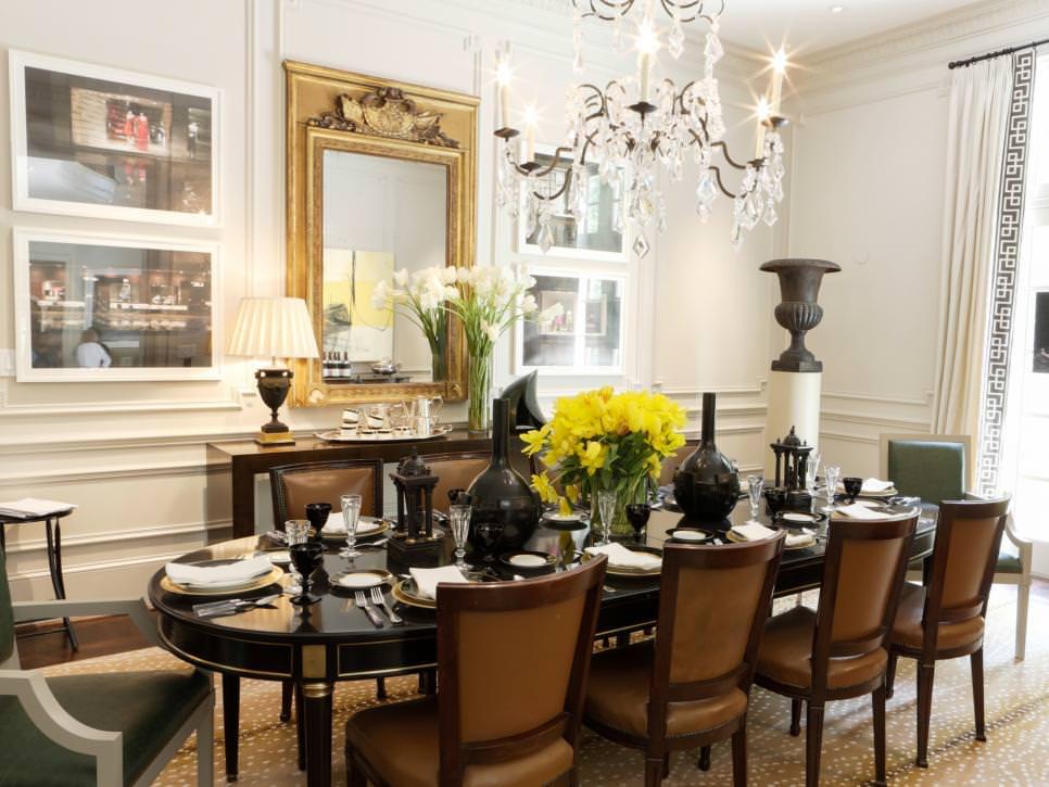 24 Elegant Dining Room Designs Decorating Ideas  Design Trends  Premium PSD Vector Downloads