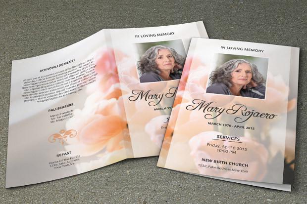 15 Psd Obituary Template Psd Download Design Trends